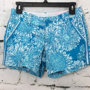 Lilly Pulitzer cute flower Callahan shorts
